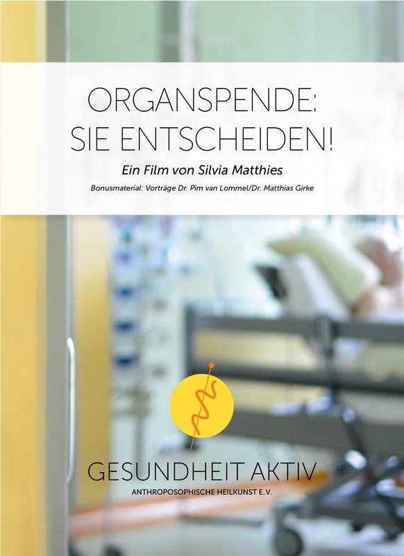 Organspende: Sie entscheiden! – DVD