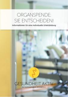 Organspende: Sie entscheiden! Broschüre + DVD